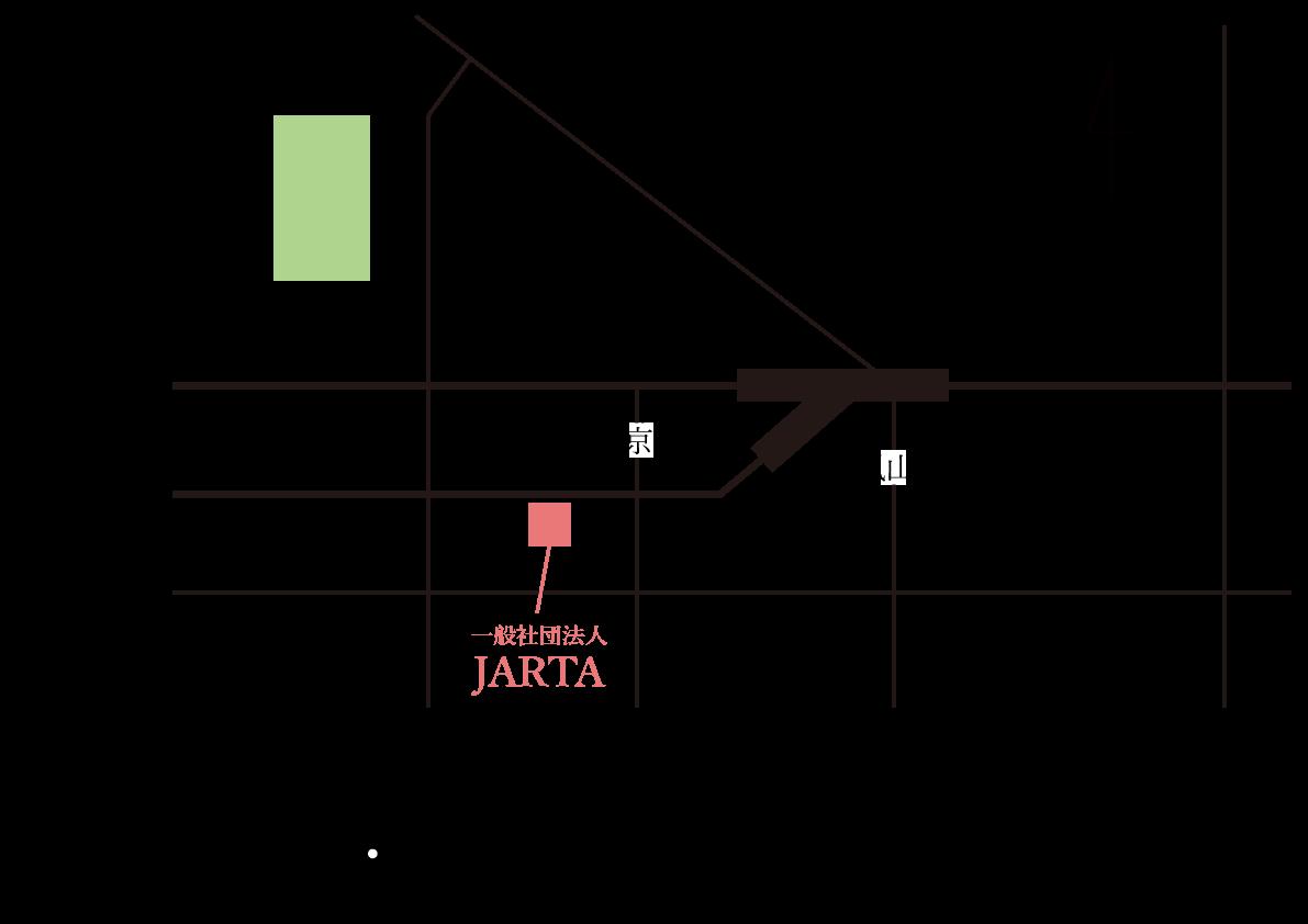 JARTA地図